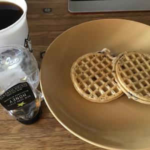 ニューヨーク生活 今日の朝食