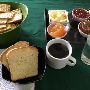ウシュアイア 宿での無料朝食