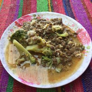 サンペドロ・デ・アタカマ 今日の朝食