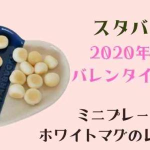 【スタバ】バレンタイン2020のミニプレートセットの購入レビュー!思ってたより大きかった!