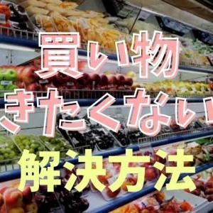 買い物行きたくない病でスーパーに行きたくない!解決するには便利サービスがおすすめ