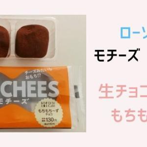 ローソンのモチーズ【もちもちチーズ】チョコ味を食べた感想!スプーン必須!