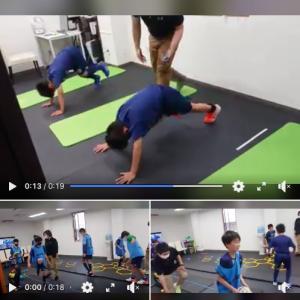 FC小田原、フィジカルトレーニングと体のチェック!