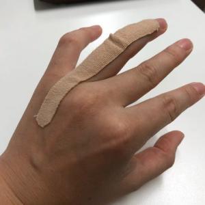 小田原ケアセンターの治療は膝痛、腰痛だけじゃない!突き指も!!