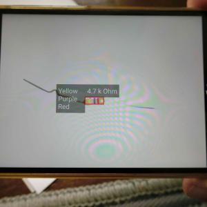 老眼ジジイが助かる、抵抗カラーコードを読むスマホアプリ