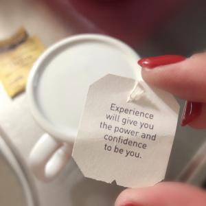 今日のYogi Tea ひとことメッセージ