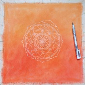 橙の曼荼羅 進捗状況