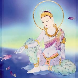 【7月21日】今日の観音力メッセージ  ~ 水の神殿 ~