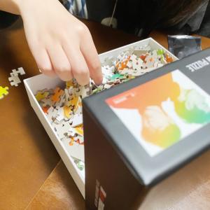 パズルの収納方法…