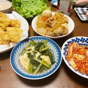 久しぶりの…夕飯  2日