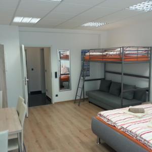 【ドイツ・デュッセルドルフ】1泊7000円程度で4人で滞在できる部屋『Studio Leopoldstreet』