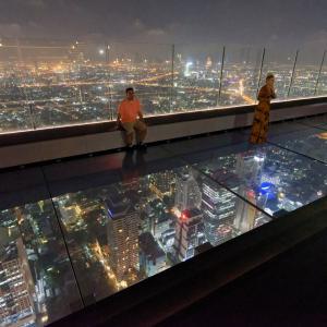 【タイ】360度、遮られることのない大パノラマを『キングパワー・マハナコーンビル』