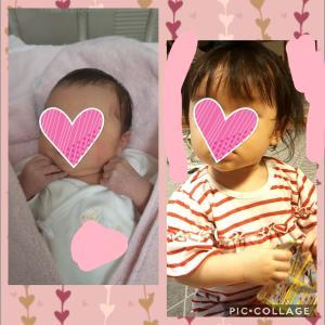 2歳と1歳の成長(10月)