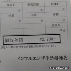 【節約】インフルエンザの予防接種