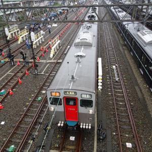 「鉄道の日」の今日は、多くの人でにぎわっていました