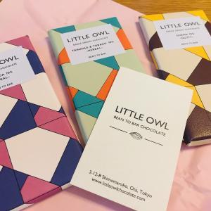 LITTLE OWLのピュアなチョコレートをどうぞ
