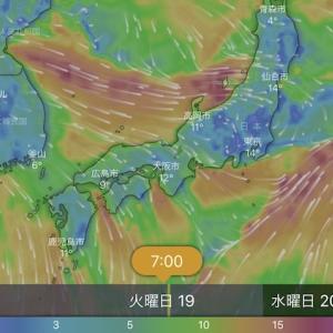 【無料】釣り人の必須アプリ!「windy」の基本的な使い方&天候の見方と設定方法を紹介