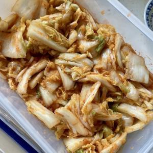【レシピ】1日寝かせるだけ!初心者が桃屋「キムチの素」で白菜キムチを作ってみた【簡単】