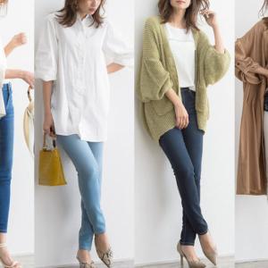 【2020最旬】大人女子は上品にスキニーデニムを履きこなす!カラー別コーデ20選!