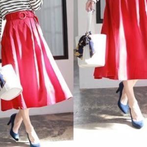 【Q&A】大人らしいカラースカートの取り入れ方って?初心者でも挑戦しやすいおすすめコーデ10選♡