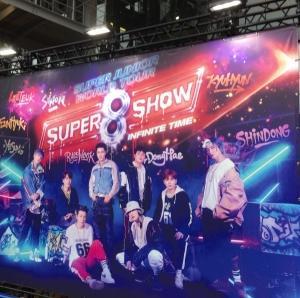 SUPER JUNIOR WORLD TOUR SUPER SHOW 8 in JAPAN(11/3)に行ってきた~!@さいたまスーパーアリーナ