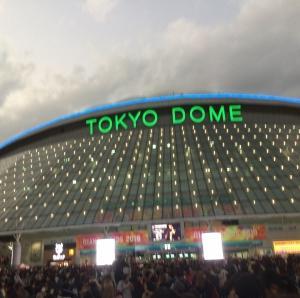 東方神起 LIVE TOUR 2019 ~XV~(11/19)に行ってきた~!@東京ドーム