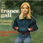 フランス・ギャル・・・5 minutes d'amour