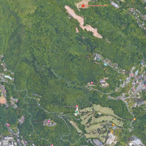 熱海土石流災害 開発途中の様子がGoogle Mapに鮮明に