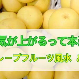 運気を上げる方法!自宅で簡単にできるグレープフルーツ風水のやり方とは?