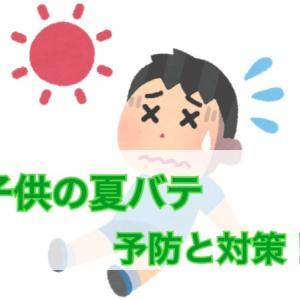子供の夏バテ予防に効果的な食事や栄養素は?おすすめの暑さ対策とは?