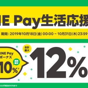 LINE Payで12%還元キャンペーンが開催!スーパーとドラッグストアで誰でも参加可能なキャンペーンの内容を紹介!