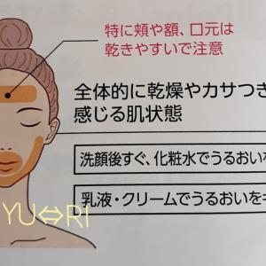 ドライスキンにイライラ( ・`д・´)