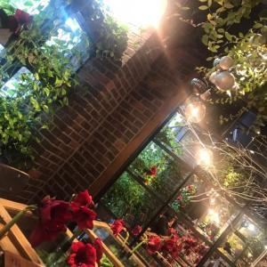 お花屋さんとカフェ
