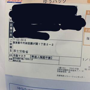 【速報】厚労省配布の布マスク(綿35%)、届き始める→パンツみたいと話題に(画像あり)