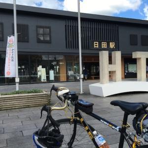 自転車旅に駅のある風景