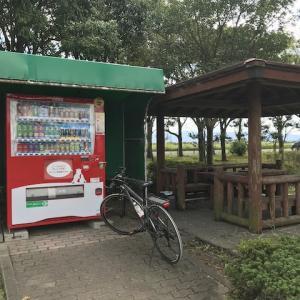 自転車旅にとって公園は強い味方