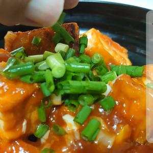 厚揚げのチリソース の作り方(レシピ) エビチリとはまた違うカリカリと美味しいチリソース