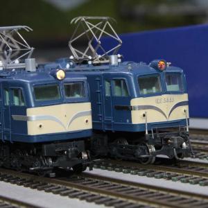 徹底比較!トラムウエイEF58とKATO EF58