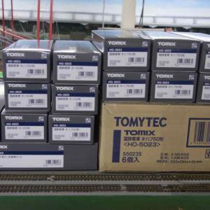 TOMIX(HO) 50系客車入荷です
