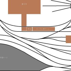 機関庫周りの配線と新7番線建設のお知らせ
