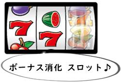 オンラインカジノ ボーナス消化 スロット