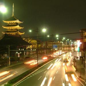 2003.4.3 夜の東寺