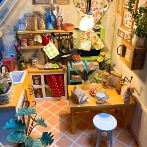 ドールハウス作成 キッチン 4