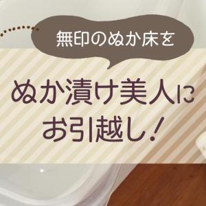 無印のぬか床を、野田琺瑯ぬか漬け美人にお引越し!水取器も便利。