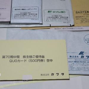 持ち株の会社から優待品が届きました。