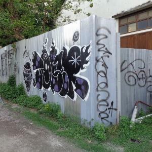 続・チェンマイの路上にある『面白い壁絵』(8)