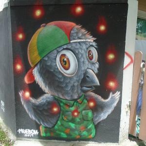 続・チェンマイの路上にある『面白い壁絵』(9)