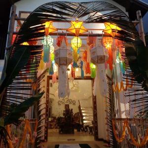 続・チェンマイの『ローイクラトン祭り』前夜祭