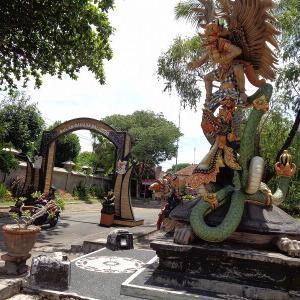 バリ島の旅『デンパサールのアートセンター』