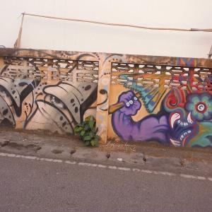 続・チェンマイの『路所にある面白い壁絵』(2)